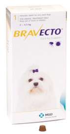 BRAVECTO (FLURALANER) for Dogs Product