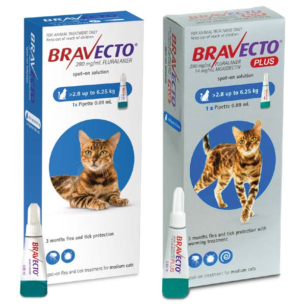 BRAVECTO for cats Package